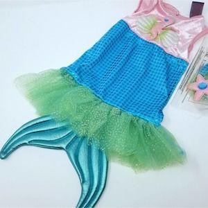 Baby Mermaid Costume 3-6months